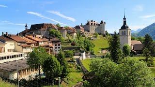 GRUYÈRES: Una pequeña ciudad histórica conservada en Suiza
