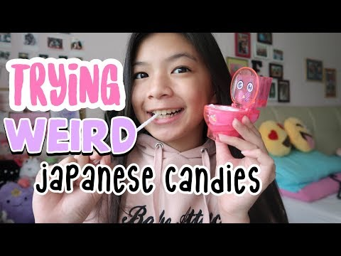Trying Out Weird DIY Japanese Candies