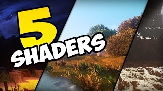 ✔ Minecraft: Top 5 Shaders Realistas (  Shaders Leve Sem Lag)