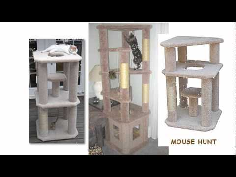Build Your Own Cat Tree - Step by Step Instruction
