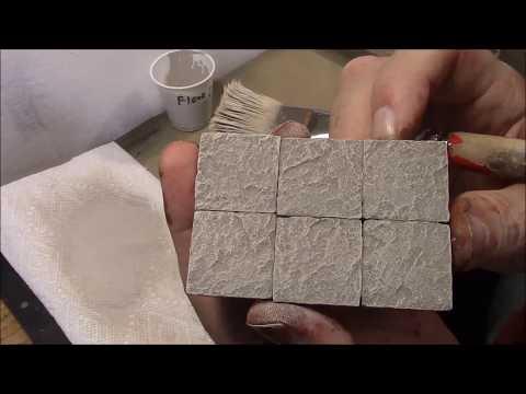 Underground Brick Painting 5: Stone Floor Dry Brushing
