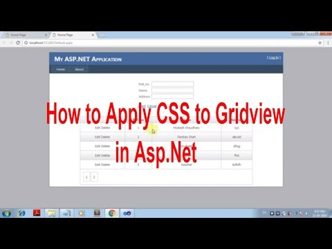 Gridview formatting using CSS -Asp.Net