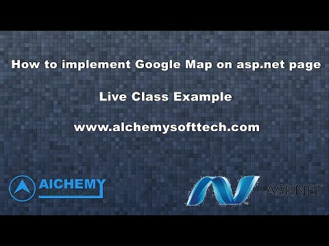 How to put Google Map on asp.net || How to show Google map on asp.net c#