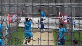 2015 WC: Team India Practicing Ahead of Australia Clash