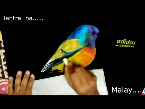 How to Paint on T-Shirt with oil pastel