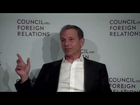 Clip: Disney CEO Robert A. Iger on Considering a Run for Public Office