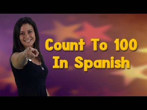 Learning Spanish | Counting In Spanish 1-100 | Count to 100 | Jack Hartmann