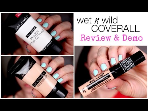 Wet 'n Wild Coverall Primer, Foundation, Concealer | Review & Demo