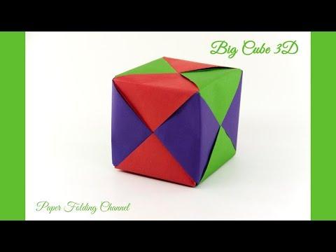 Origami Big Cube 3D