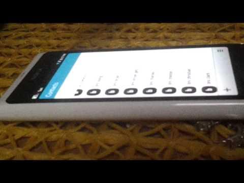 Nokia N9 Air UI/Gestures