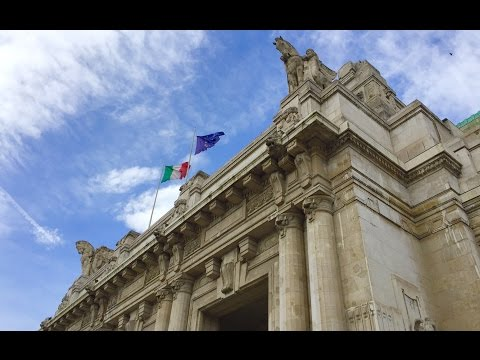 Trip to Milano, Italy: Milano Centrale   Milan Central Station