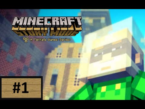 Minecraft Story Mode : Episode 2 - #1 : GRIEFER TOWN!? (Indonesia)