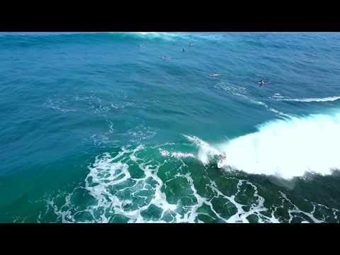 Clean Overhead Barrel over Nasty Reef