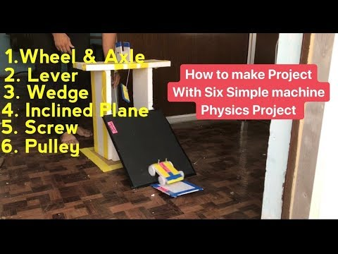 school project on simple machine   physics Project