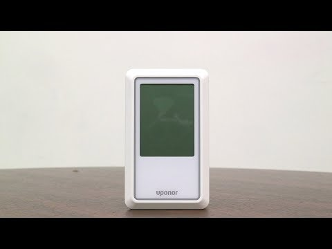 Uponor A3100101 Heat-only Touchscreen Thermostat