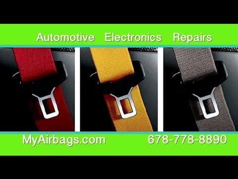 Seat Belt, Old, Cut, Ripped, Chewed - Pre-Tensioner Repair Rebuilt Replacement - MyAirbags