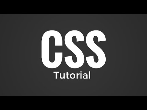 CSS Tutorial-Footer at the bottom of the page
