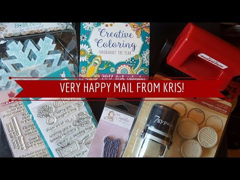Very Happy Mail from Kris!