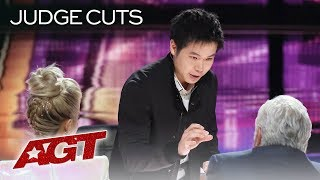 WOW! Magician Eric Chien Warps Reality With Amazing Magic Tricks - America's Got Talent 2019