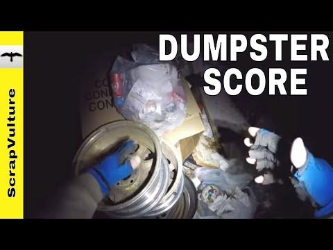 SCRAPPER'S DELIGHT! - a Walmart DUMPSTER DIVE Route Session
