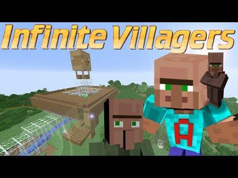 Minecraft - How to Make a Villager Breeder | Double Minecraft Villager Farm | Infinite Villagers