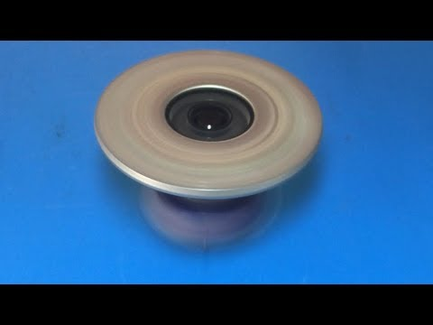 How to make an Electric Gyroscope , science project 2018