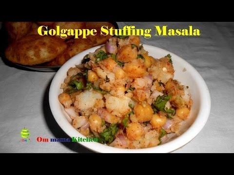 Golgappa Stuffing Masala / Filling for Panipuri