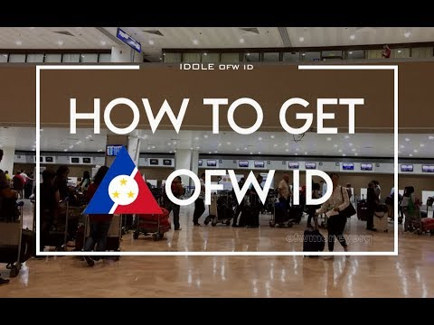 How To Get IDOLE OFW ID Card