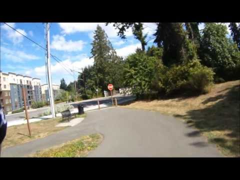 Cycling the Seattle Interurban Trail With Map