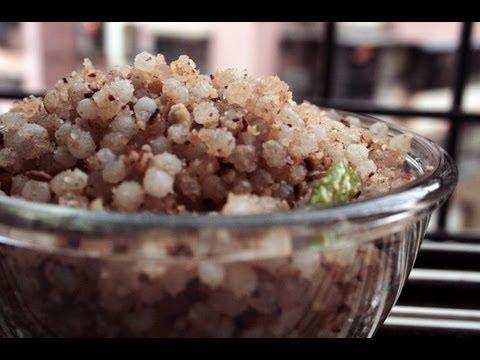 5 Mins Tasty Sabudana Khichdi | उपवासाचे साबुदाणा खिचडी | Sabudana Khichdi by Archana in Marathi