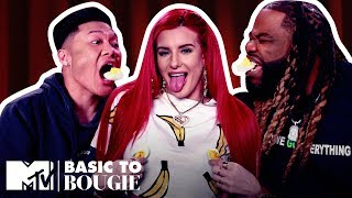 'Let's Go!!!!!' Deviled Eggs & Ribs ft. Justina Valentine | Basic to Bougie Season 3 | MTV