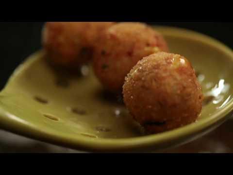 Amul Recipes:: Cheese Corn Balls - Gujarati