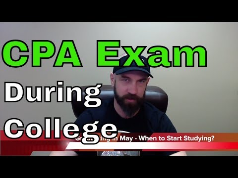 CPA Exam Study during College or Master's Degree  | Another71.com