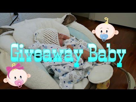Giveaway Reborn Baby Doll UPDATE! Free Baby Doll! Sneak peek! Lifelike Doll!