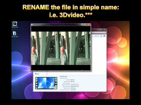 How to Convert any 2D 3D Movie Video to NINTENDO 3Ds format | HD tutorial 3D Free Glasses