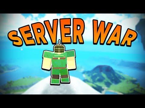 SERVER WAR! FIGHTING HACKERS! (ROBLOX BOOGA BOOGA)