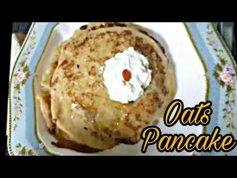 Oats and Banana Pancake/How to make Oat meal Pancake/Easy & Healthy recipe