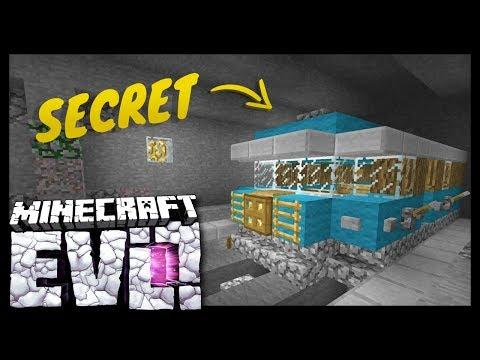 SECRET HEADQUARTERS!? - Minecraft Evolution SMP - #20