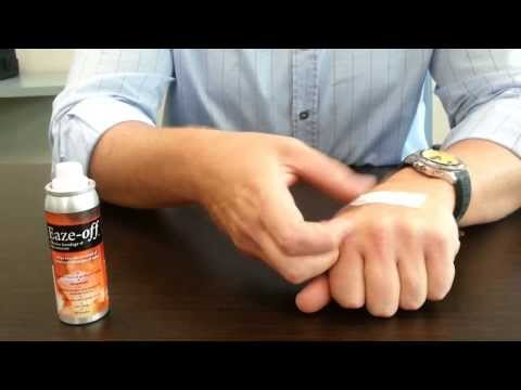 Demonstration: Eaze-Off Adhesive Bandage & Tape Remover