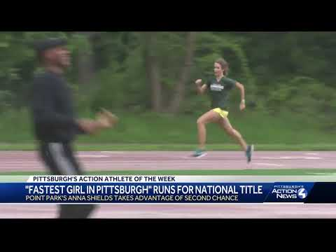 Pittsburgh's Action Athlete: Point Park runner Anna Shields, 'the fastest girl in Pittsburgh'