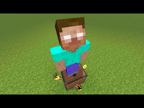 Minecraft (Xbox360/PS3) - SECRET HEROBRINE HOLOGRAM! - TUTORIAL