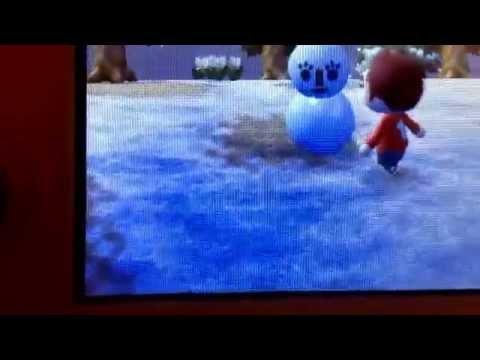 Acnl: snowmam!