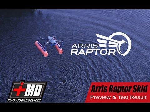 DJI Mavic Pro Arris Raptor skid preview