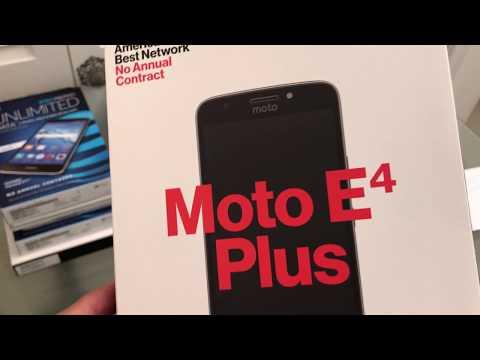 How to unlock the Verizon Prepaid Moto E4 Plus