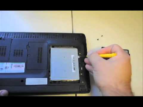 Acer Netbook - How to remove hard drive