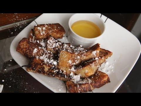 Burger King French Toast Sticks Recipe (TTOD #12 3.6.13) Breakfast - The Take Out Diet
