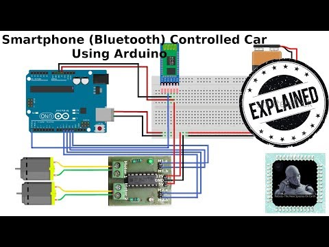 How to make Smartphone (Bluetooth) Controlled Car Using Arduino