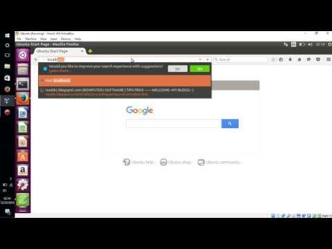 Tutorial Konfigurasi Web Server Ubuntu Virtual Box Dengan Apache2