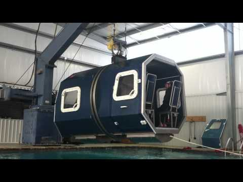 Offshore Water Survival HUET Training