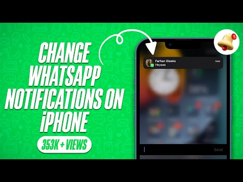 How To Change WhatsApp Notifications Sound on iPhone